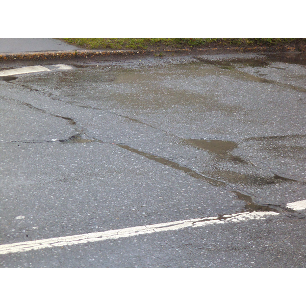 Damage to Greatfield Road