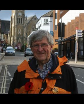 Alan Hilliar on Victoria Road, Aldershot (Alan Hilliar)